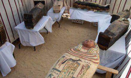 ЕГИПЕТ ОТКРИ УШТЕ 50 САРКОФАЗИ СТАРИ 3.000 ГОДИНИ ЗА КОИ ВЕРУВА ДЕКА ЌЕ ЈА СМЕНАТ ИСТОРИЈАТА